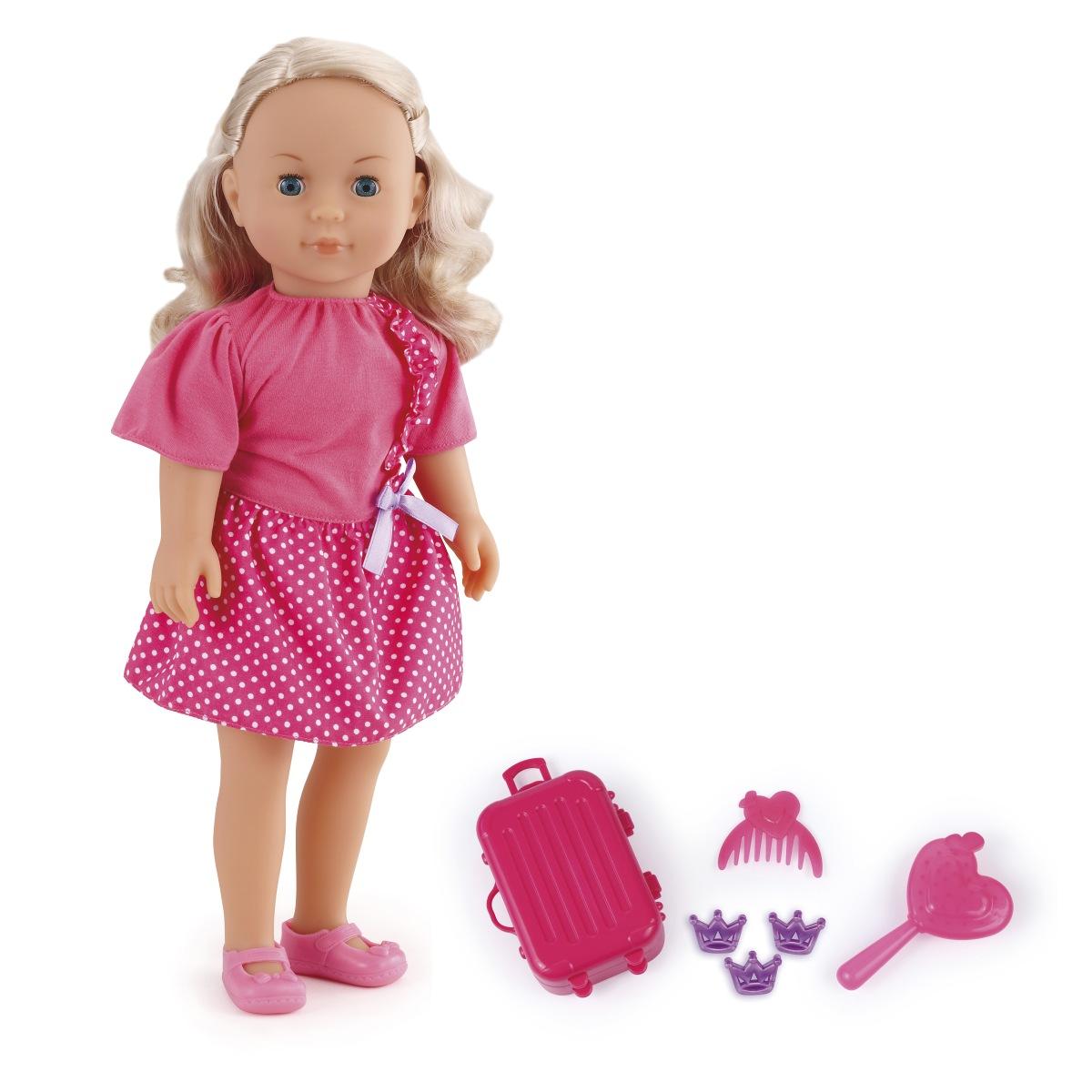 Made mluvící panenka Adélka Cestovatelka, 50 vět, 40 cm