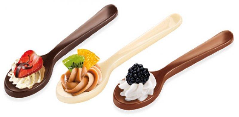 Forma na čokoládové lžičky