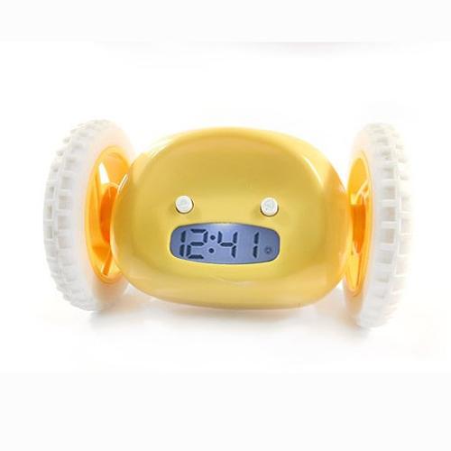 Jezdící budík Clocky, Žlutý