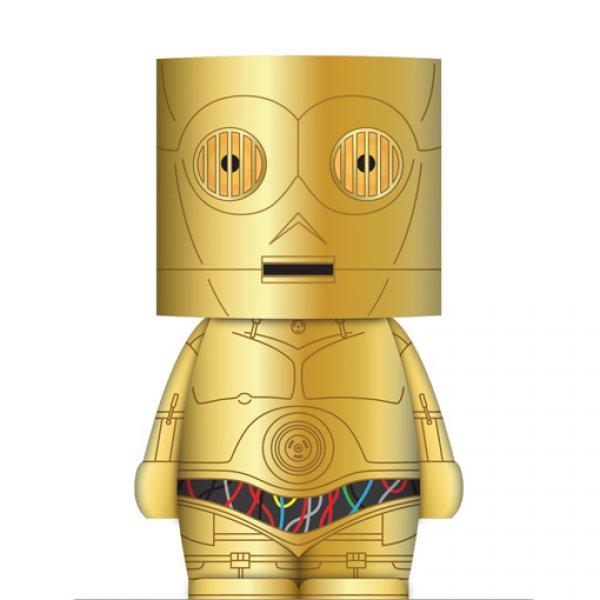 LED lampička Star Wars - C3PO