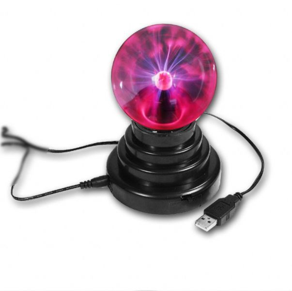 USB plazma koule - Plasma ball, 8 cm