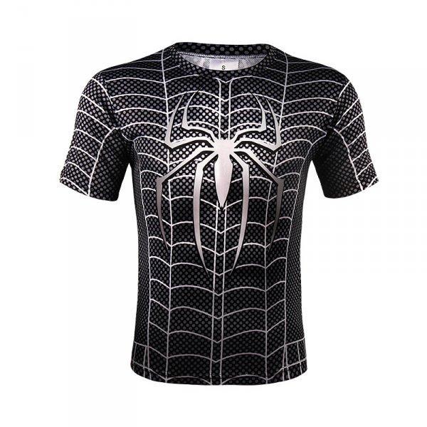 Sportovní tričko - Spiderman Symbiote vel. M