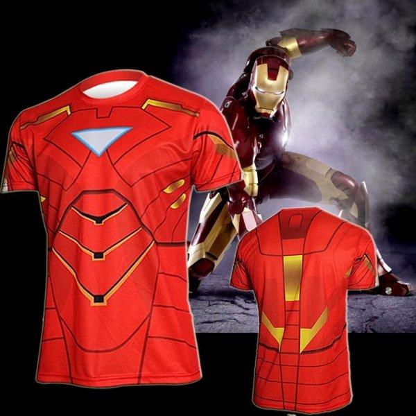 Sportovní tričko - Iron Man vel. M