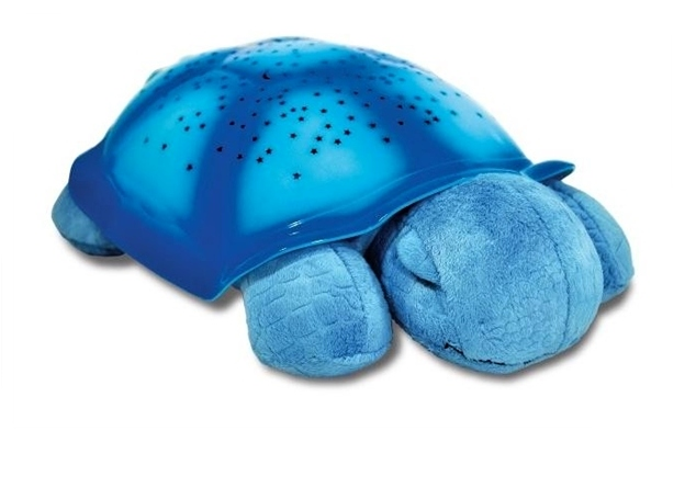 Noční svítící želvička - Modrá