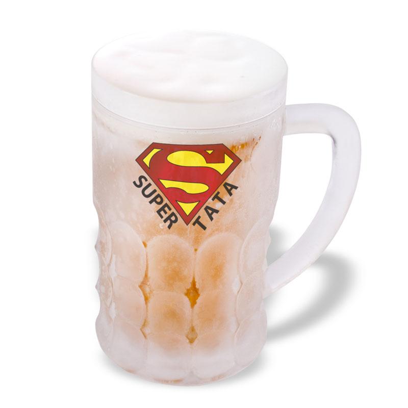 Samochladící půllitr Super Táta, 600 ml.