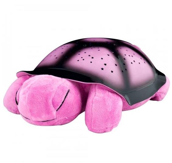 Noční svítící želvička - Růžová