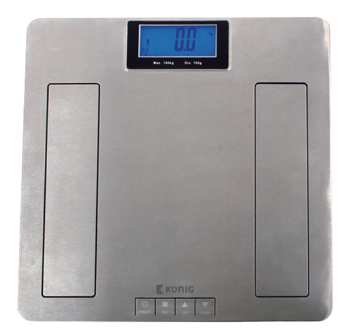 Ultra tenká osobní váha König 180 kg