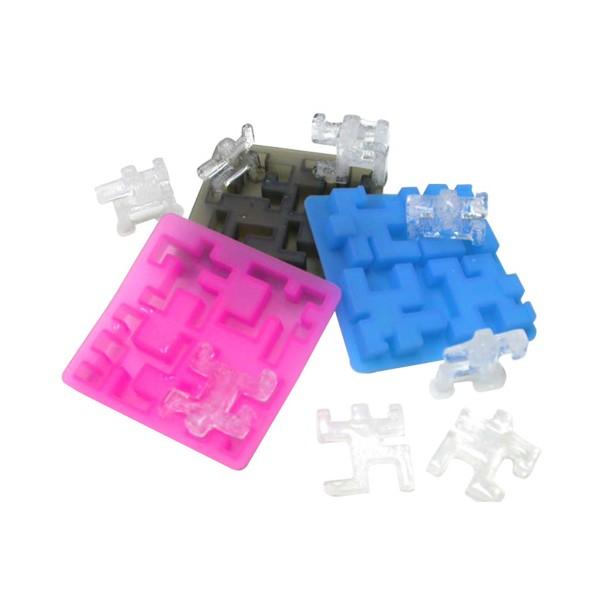 Silikonová forma na led Tetris