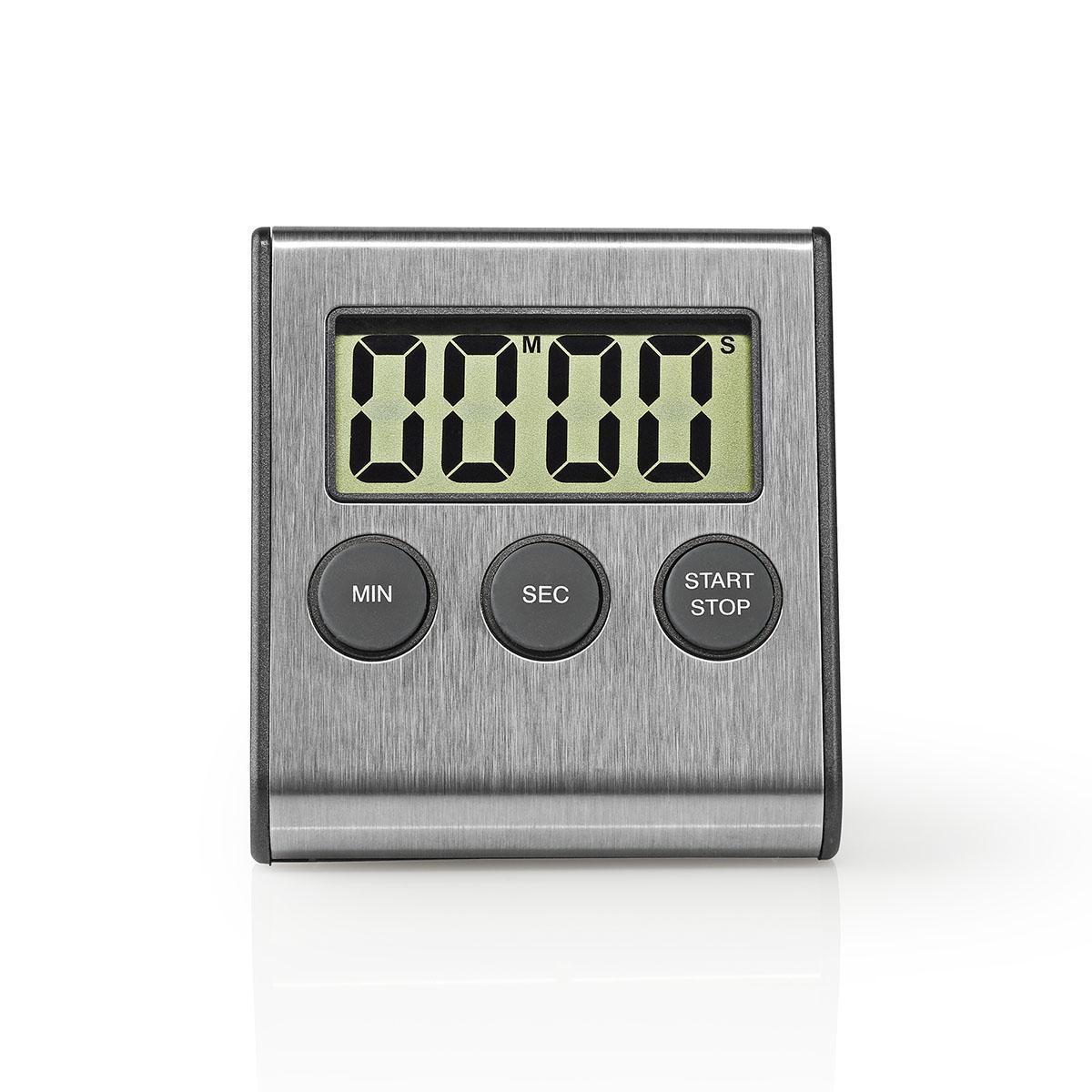 Digitální kuchyňská minutka Nedis s magnetem