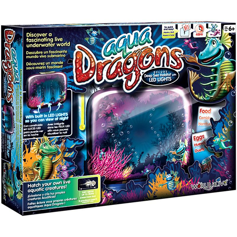 Aqua Dragons Vodní dráčci Akvárium s LED osvětlením