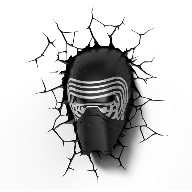 3D světlo EP7 - Star Wars Kylo Renova helma
