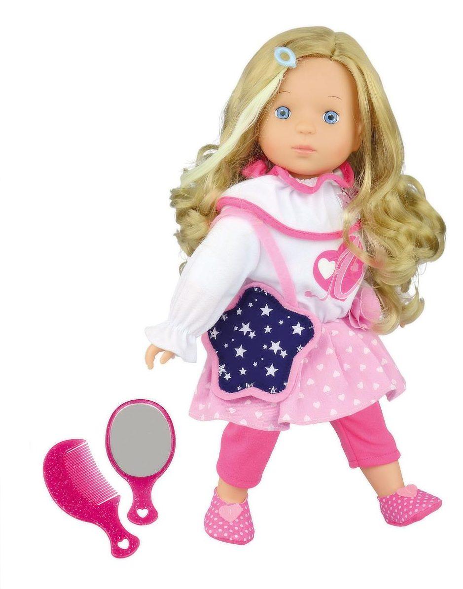 Made mluvící panenka Adélka s pohádkou, 40 cm