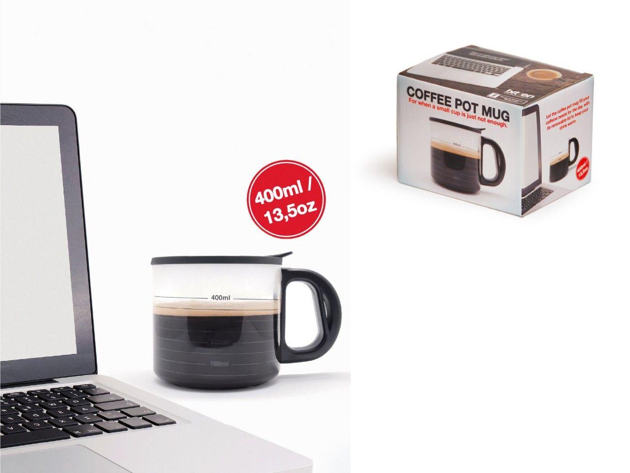 Hrnek - Konvice na kávu 400 ml.