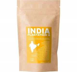 India Plantation A, Zrnková Arabika 200g