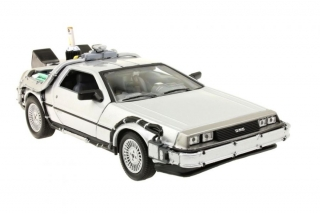 Welly Back to the Future II Diecast Model 81 DeLorean LK Coupe Fly Wheel 1:24