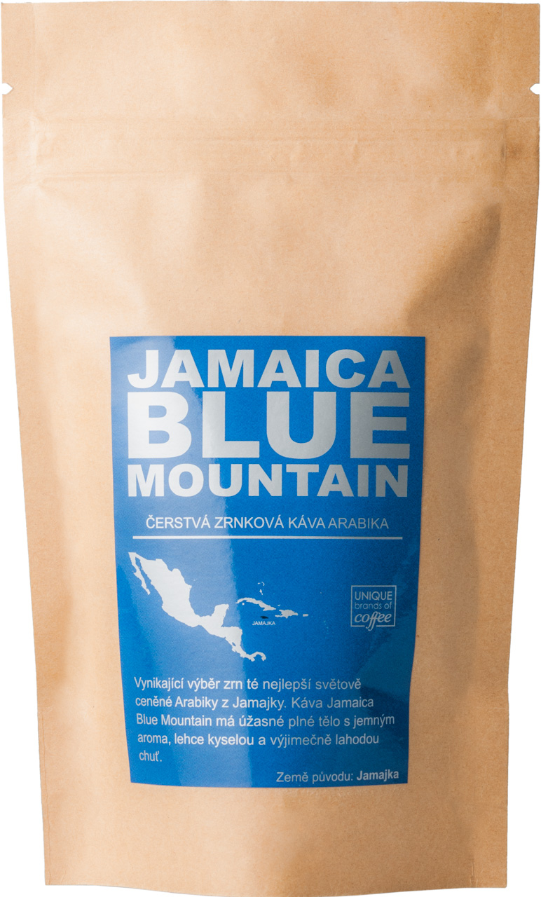 Jamaica Blue Mountain Arabika, Zrnková 100g