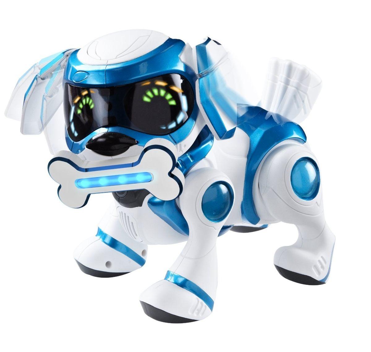TEKSTA robotické štěně ovládané hlasem, Modré